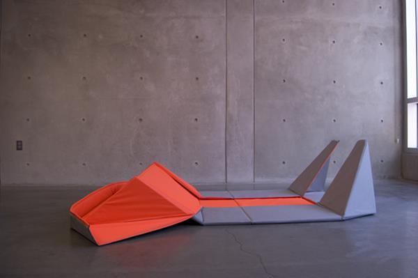 Origami Sofa by Yumi Yoshida