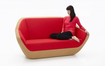 Corques sofa by Lucie Koldova for PER/USE