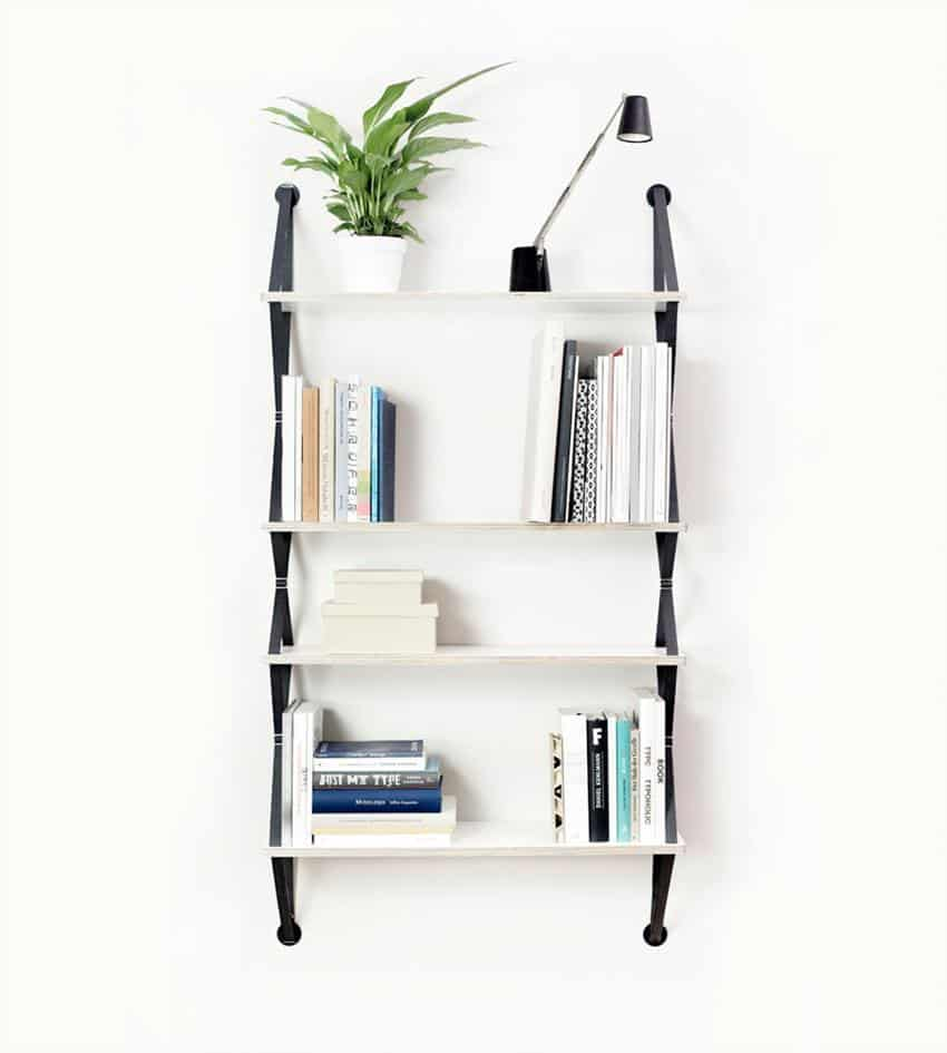 Backpack Modular Wall Shelving System by fifti-fifti