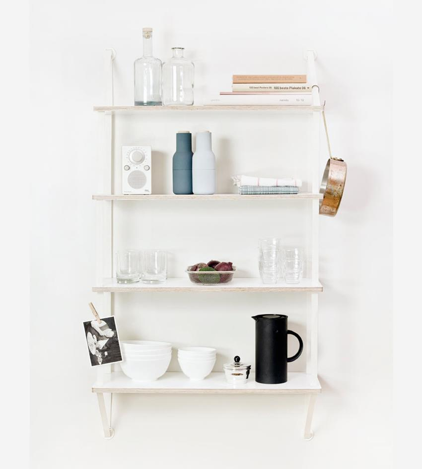 Backpack Modular Wall Shelving System by Fifty-Fifty