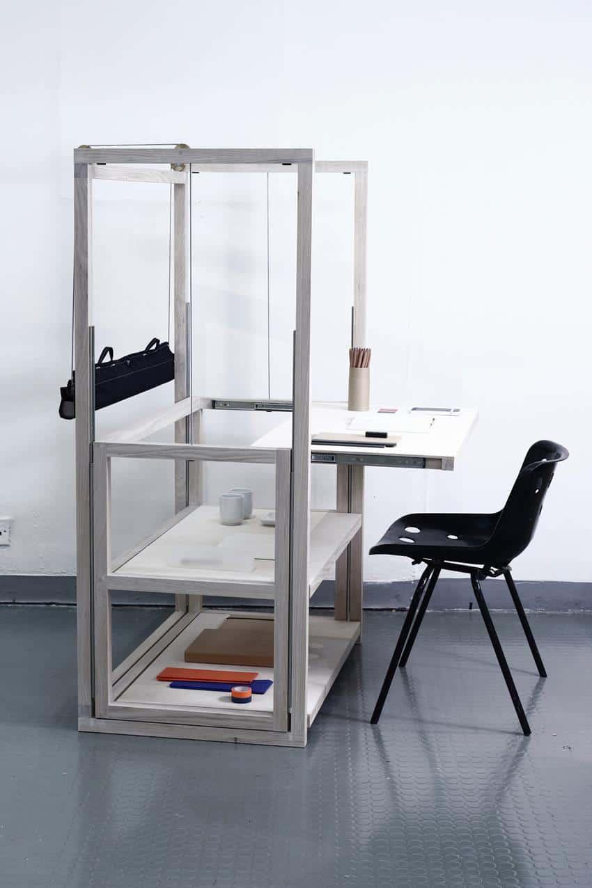 Shelf of Tables by Matej Chabera