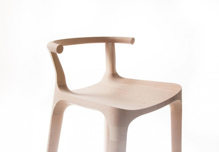 Elka Bar Stool by Oscar Pipson