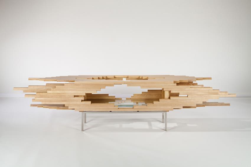 Explosion Cabinet by Sebastian Errazuriz