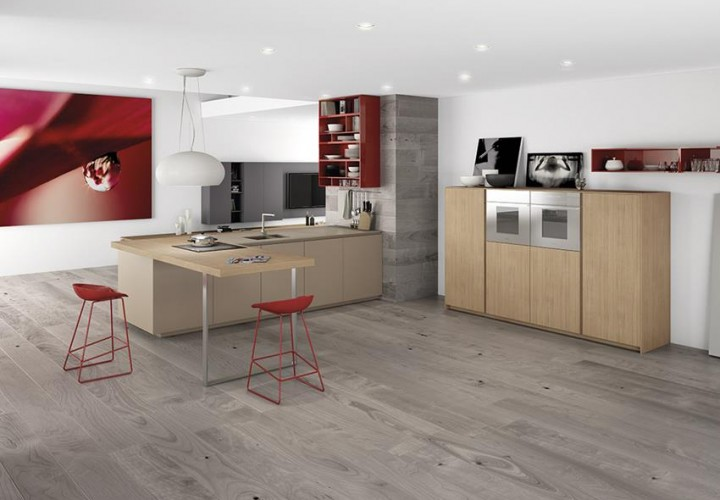Filo Young Kitchen by Marconato & Zappa for Comprex