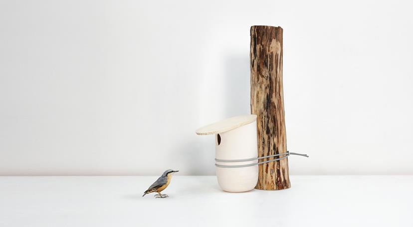 Mikko Birdhouses and Feeders by Pygmalion Studio