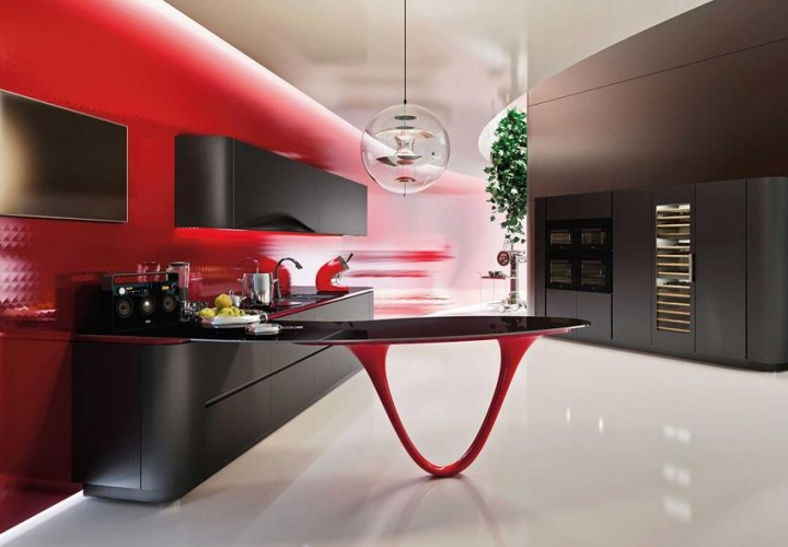 OLA 25 Limited Edition Kitchen by Snaidero & Pininfarina