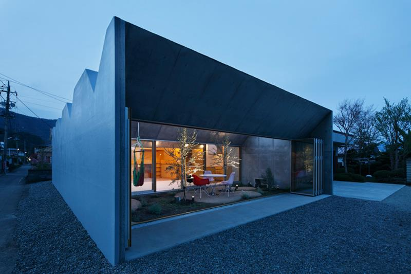 Outside In House by Takeshi Hosaka Architects