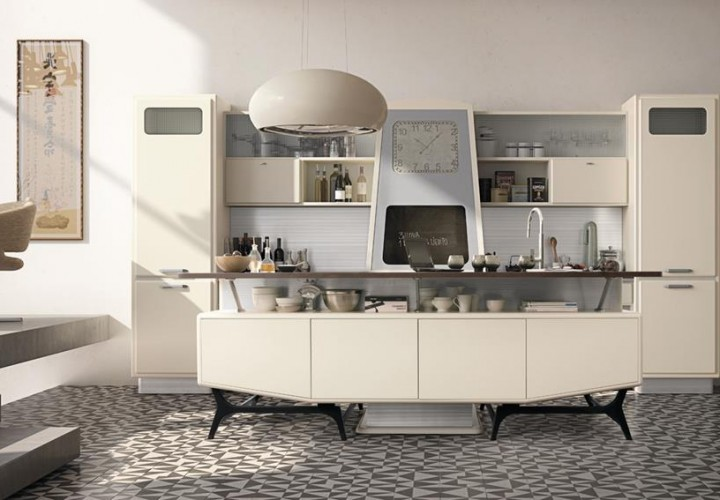 St. Louis Retro-Looking Kitchen Series by Marchi Cucine