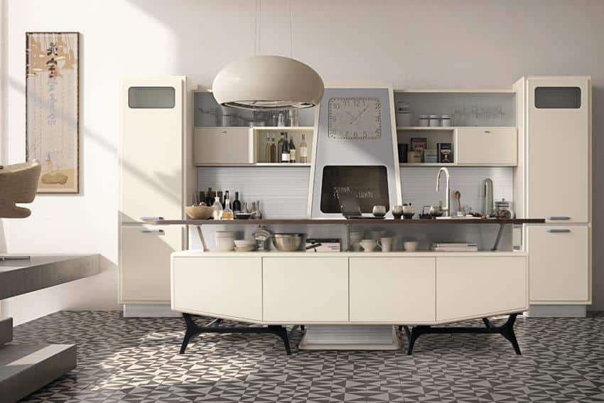 St. Louis Retro-Looking Kitchen Series by Marchi Cucine