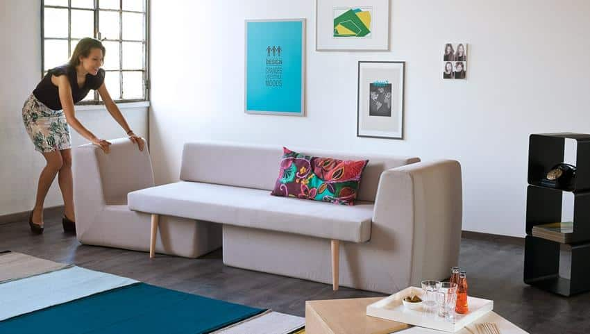 Sofista Modular and Stackable Sofa