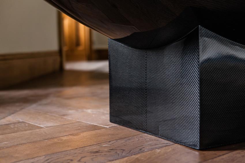 Vessel Freestanding Carbon Fiber Bathtub And Wash Basin