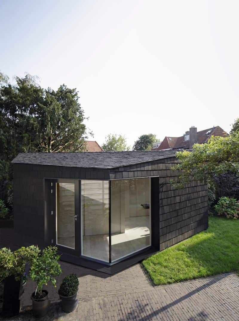 Garden studio in bussum by serge schoemaker architects for Large garden studio