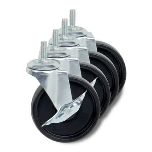 Installing Pallet Jack Wheels On All Your Warehouse Storage Units