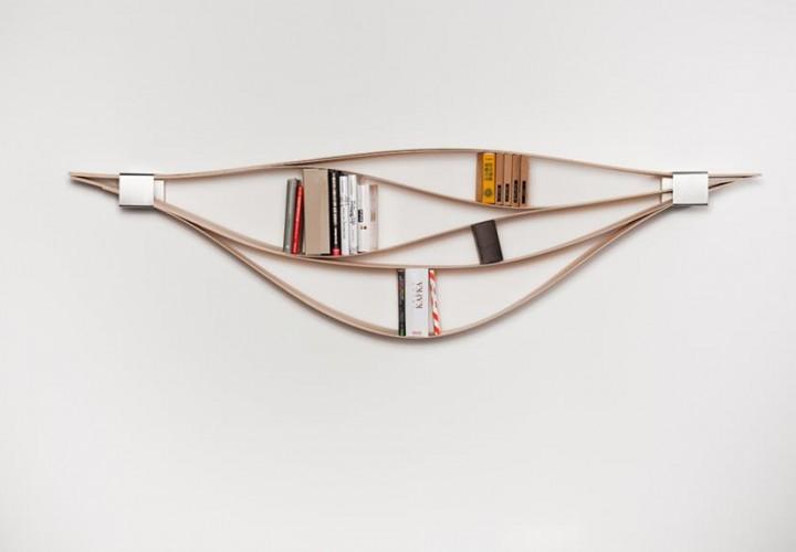 Chuck Flexible Wall Shelf by Natascha Harra-Frischkorn