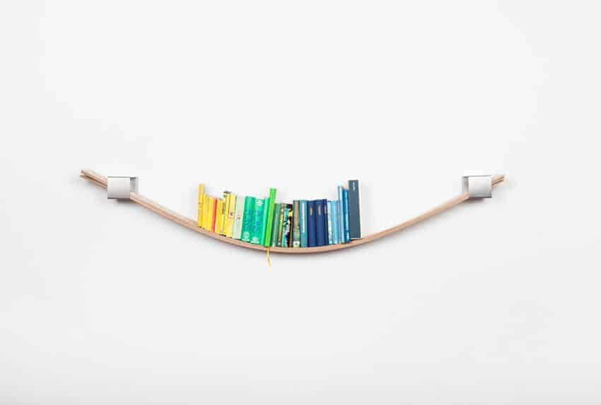 Chuck Flexible Wall Shelf by Natascha Harra-Frischkorn