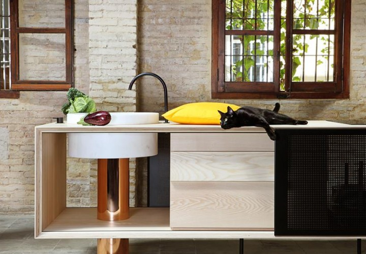 Float Modular Kitchen by MUT Design