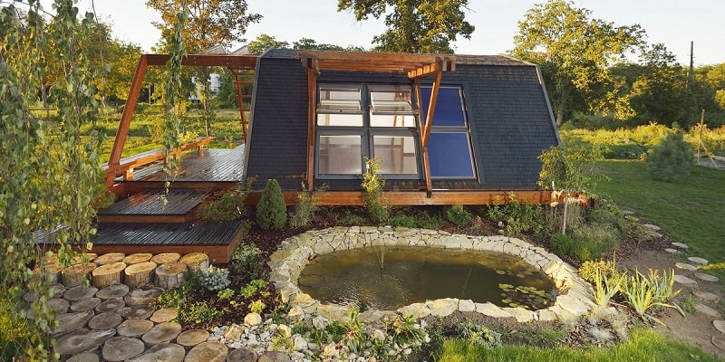 Enjoyable Tiny Eco House Largest Home Design Picture Inspirations Pitcheantrous