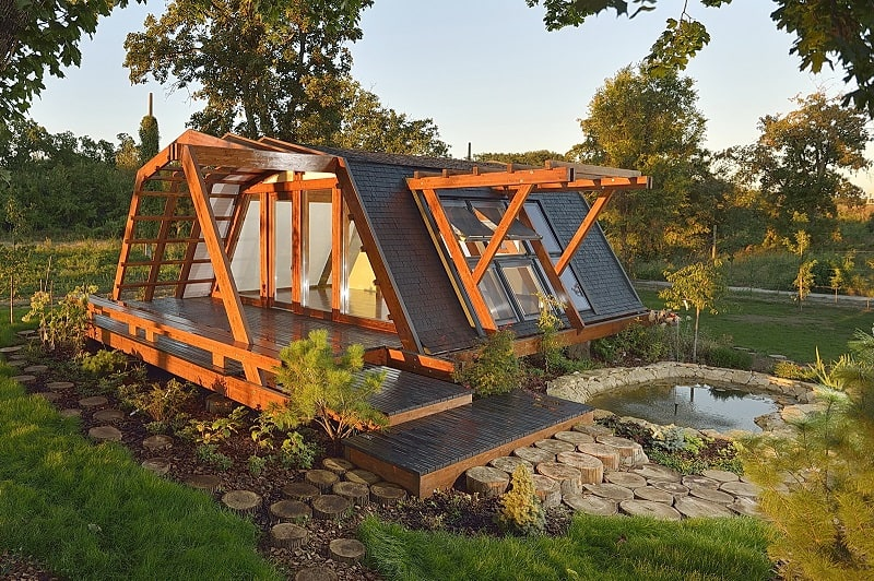 Awesome Tiny Eco House Largest Home Design Picture Inspirations Pitcheantrous