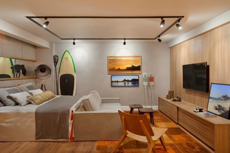 Awesome 40m2 Studio Designs For Him And For Her