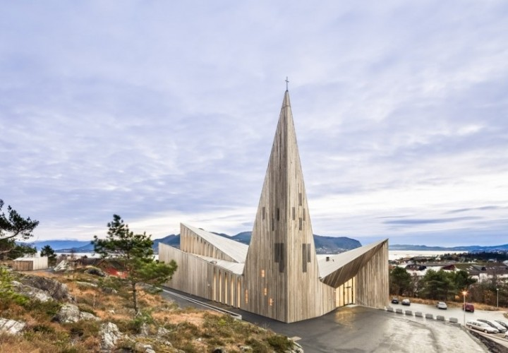 contemporary Norwegian church