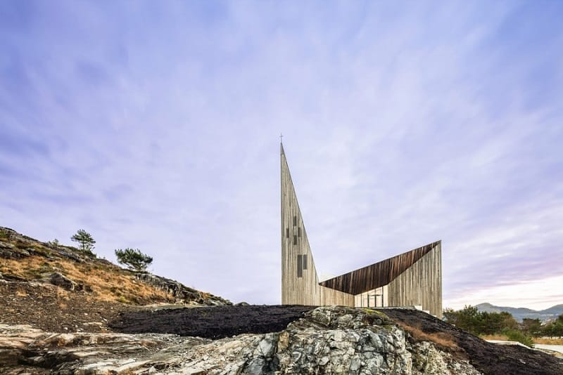contemporary Norwegian church3