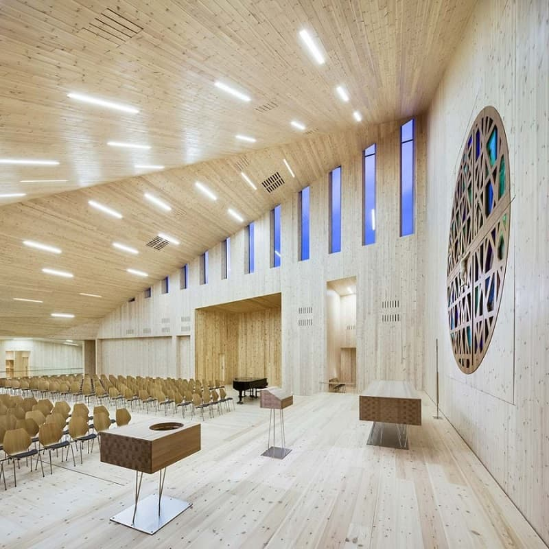 contemporary Norwegian church5