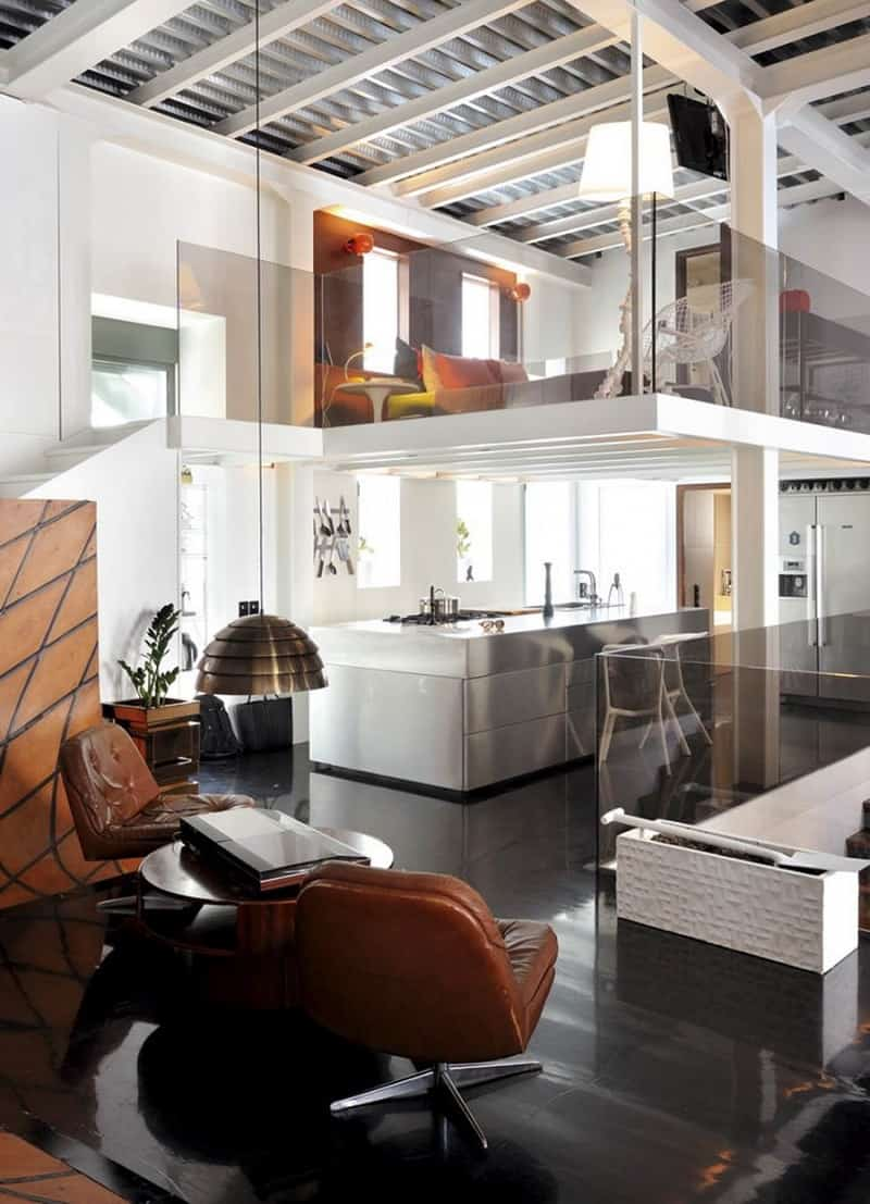 neoclassical house transformed into an urban apartment4