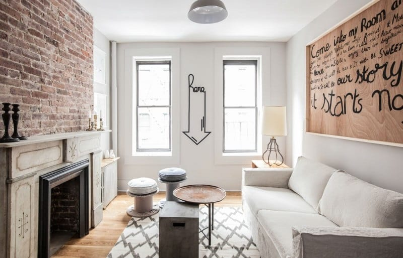 Urban minimalistic interior in New York