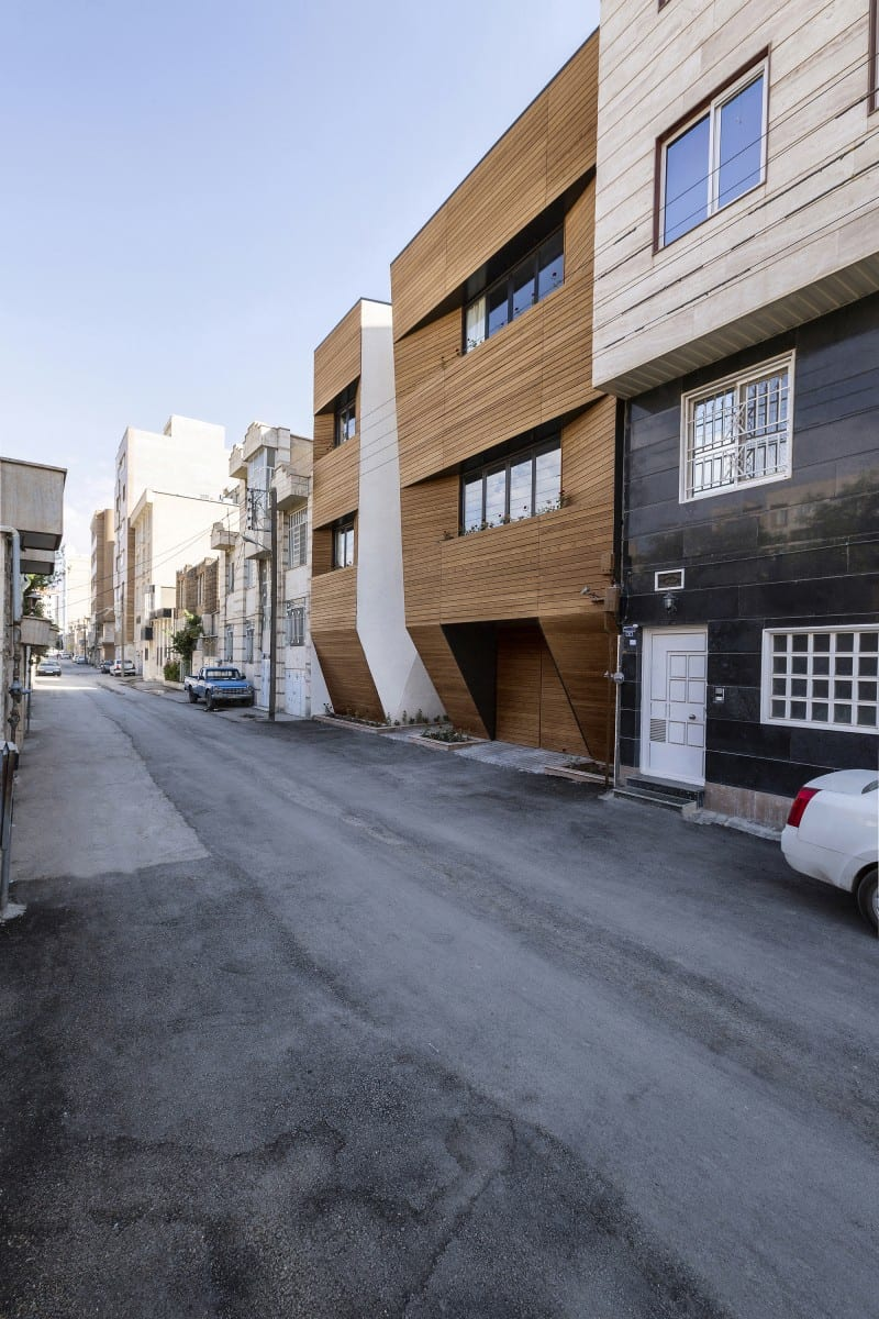 afsharian house facade street level