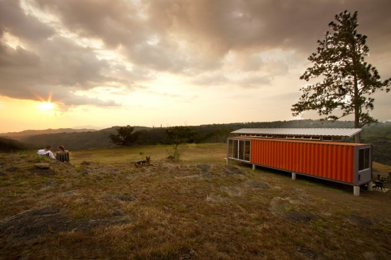 Elegant shipping container home7