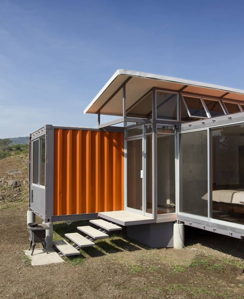 Elegant shipping container home8