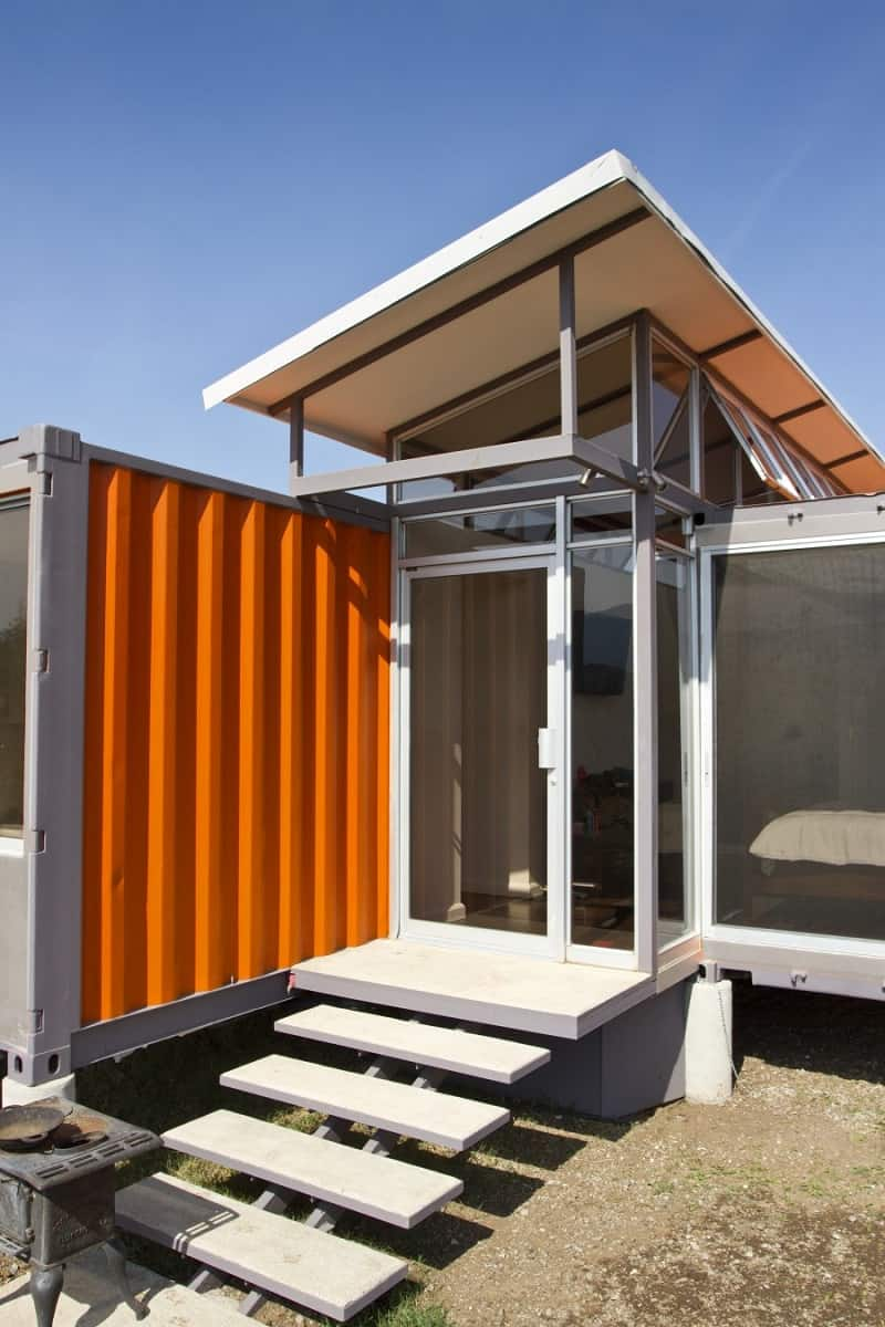 Elegant shipping container home9