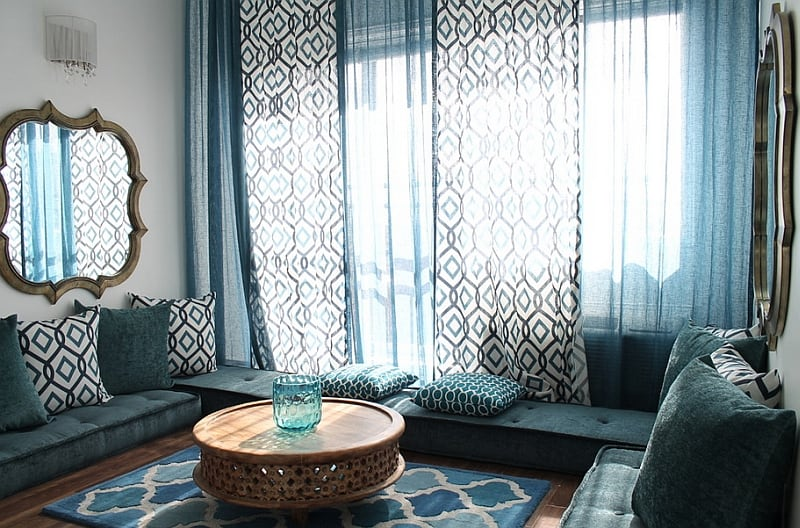 Exotic Moroccan Living Rooms (2)