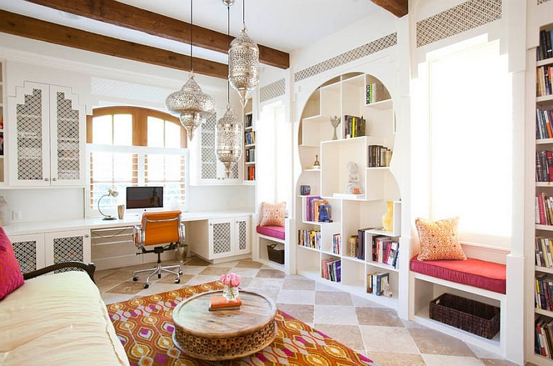 Exotic Moroccan Living Rooms3