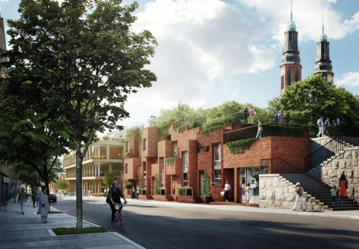 Green urban redevelopment in Stockholm
