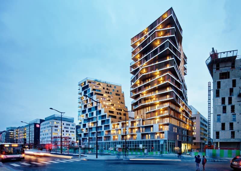 Housing project that changes the architectural character of Paris