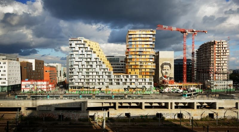 Housing project that changes the architectural character of Paris`1