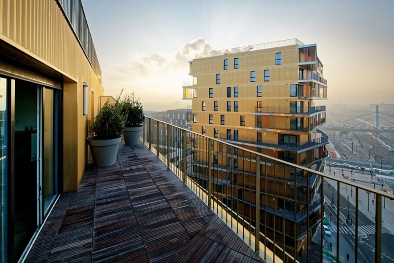 Housing project that changes the architectural character of Paris5