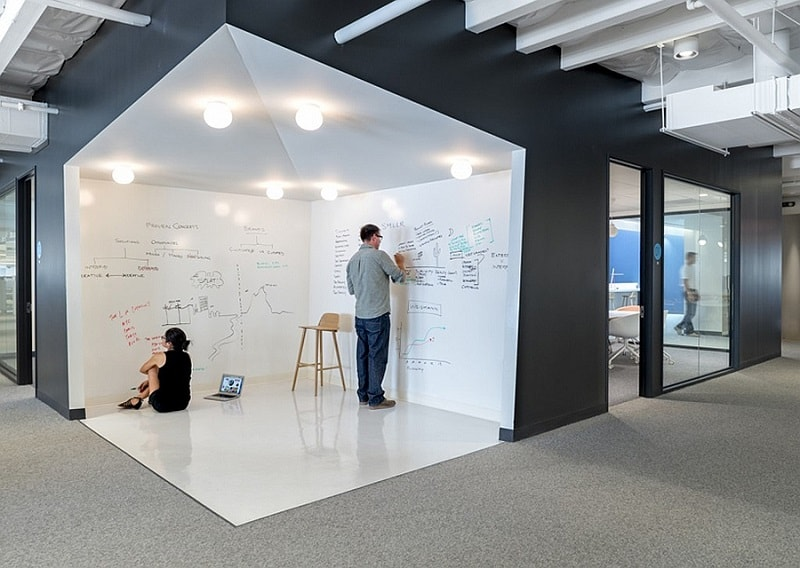 Offices that allow greater interaction between employees5