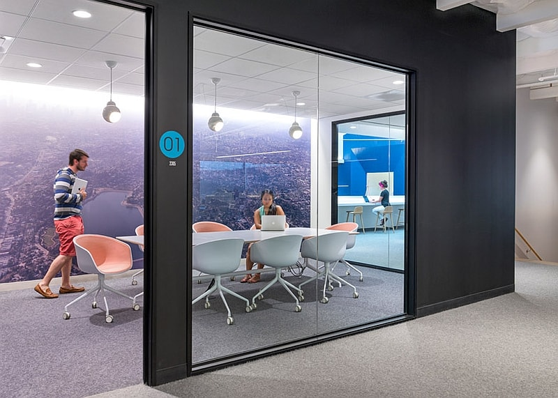 Offices that allow greater interaction between employees6