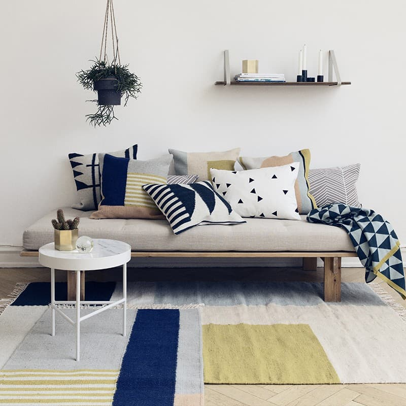 "Contemporary Scandinavian decor by ""ferm Living"""