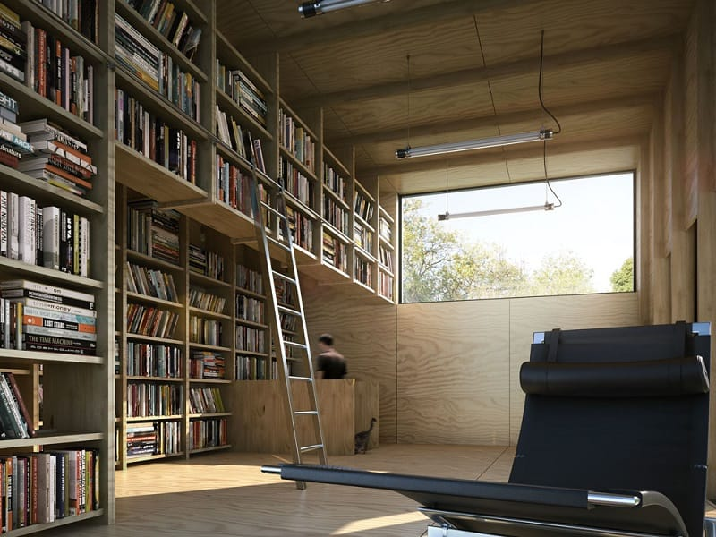 House fully dedicated to the enjoyment of reading5