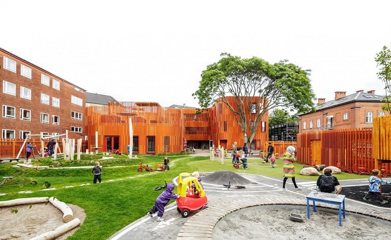 Awesome kindergarten in Copenhagen4