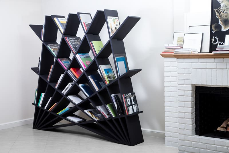Creative sculptural bookshelf2