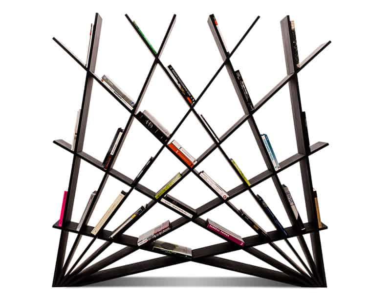 Creative sculptural bookshelf3
