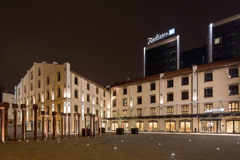 Old mill in Belgrade transformed into a modern luxurious hotel1