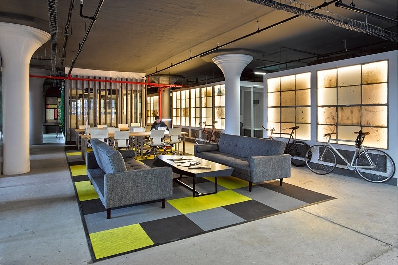 An Old Factory Transformed Into A Relaxing Office Space