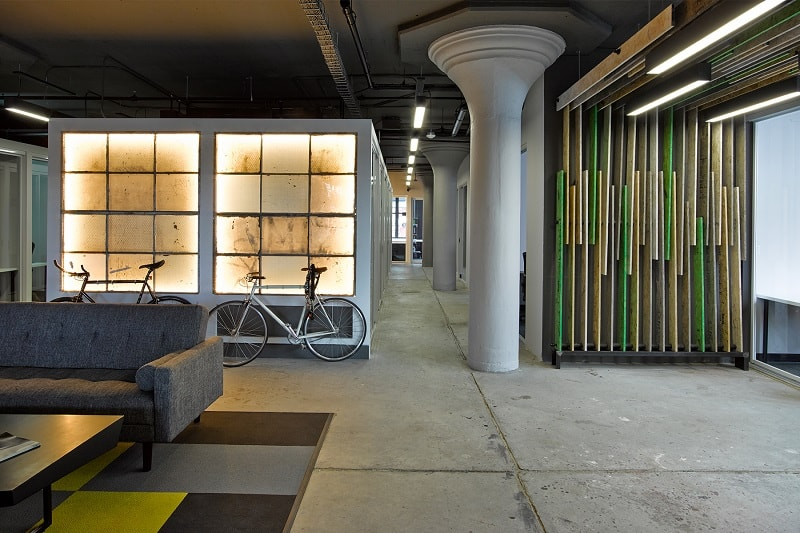 An old factory transformed into a relaxing office space2