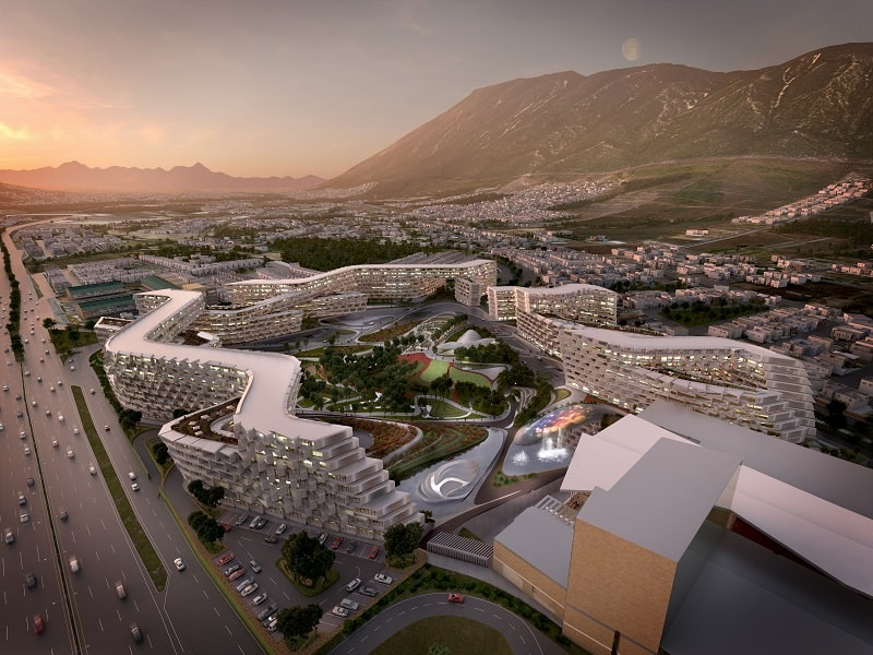 Esfera City Center - project for grandiose residential complex in Mexico6