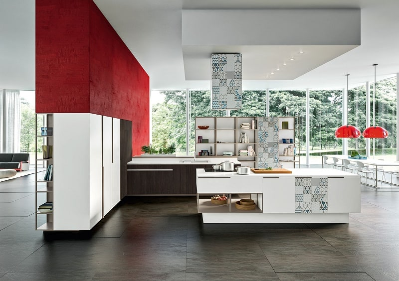Kitchens with flexible design and modular elements4